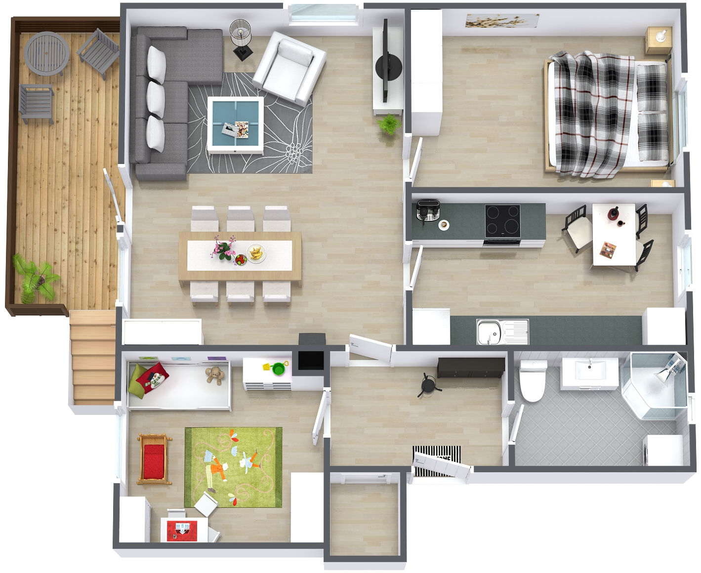 Warranty home inspection - floor plan